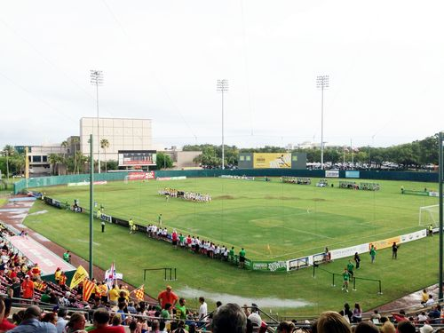 Al Lang Stadium Rowdies Game