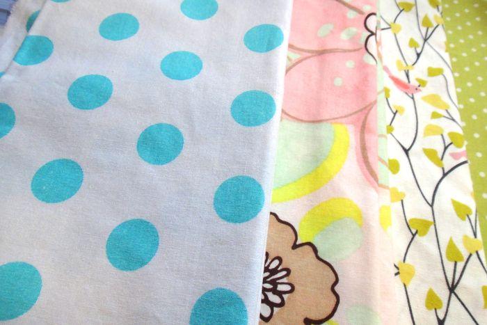 Baby Girl Rohrer Quilt Planning Fabrics #2