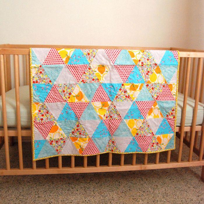 Amber Rohrer Florida Quilt for Baby Girl