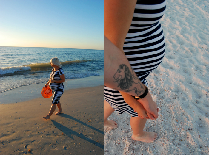 Amber Rohrer Beach Maternity Shoot