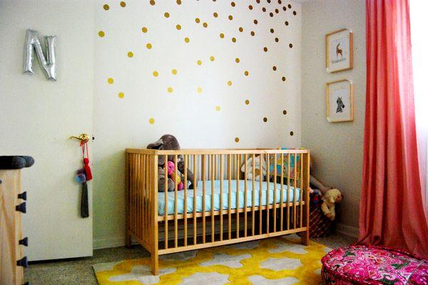 Noi's Simple & Pretty Nursery | www.studioarblog.com