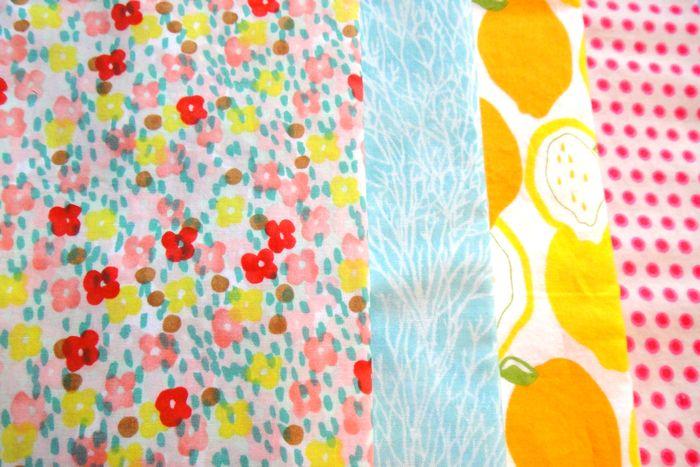 Baby Girl Rohrer Quilt Planning Fabrics #1