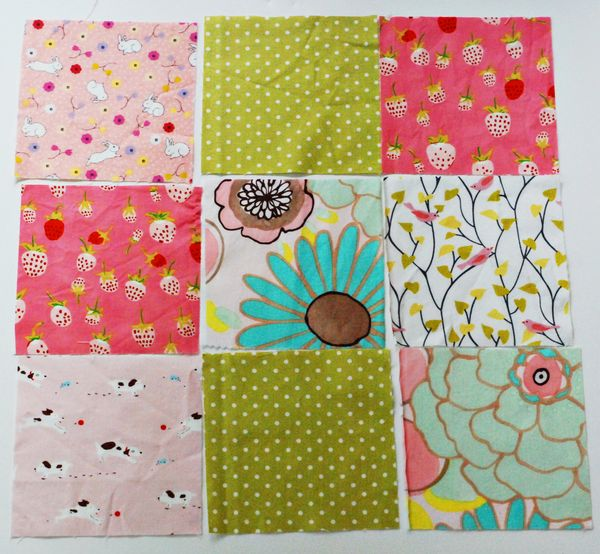 Quilt How to: disappearing 9 patch