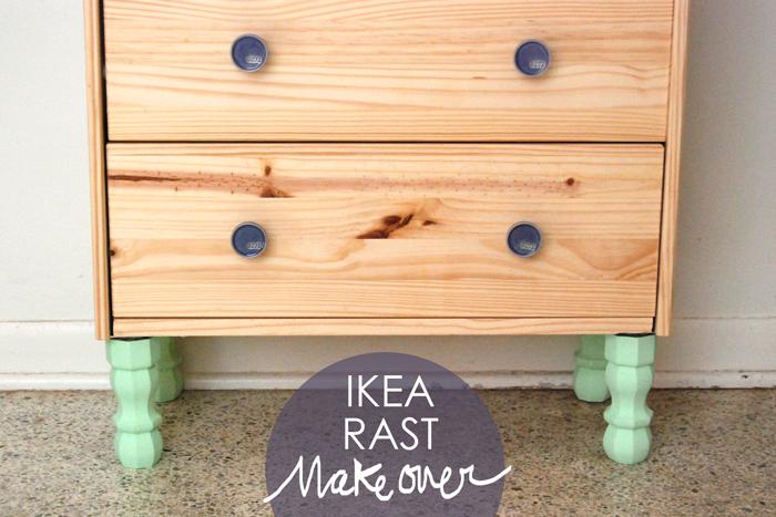 IKEA Rast Makeover