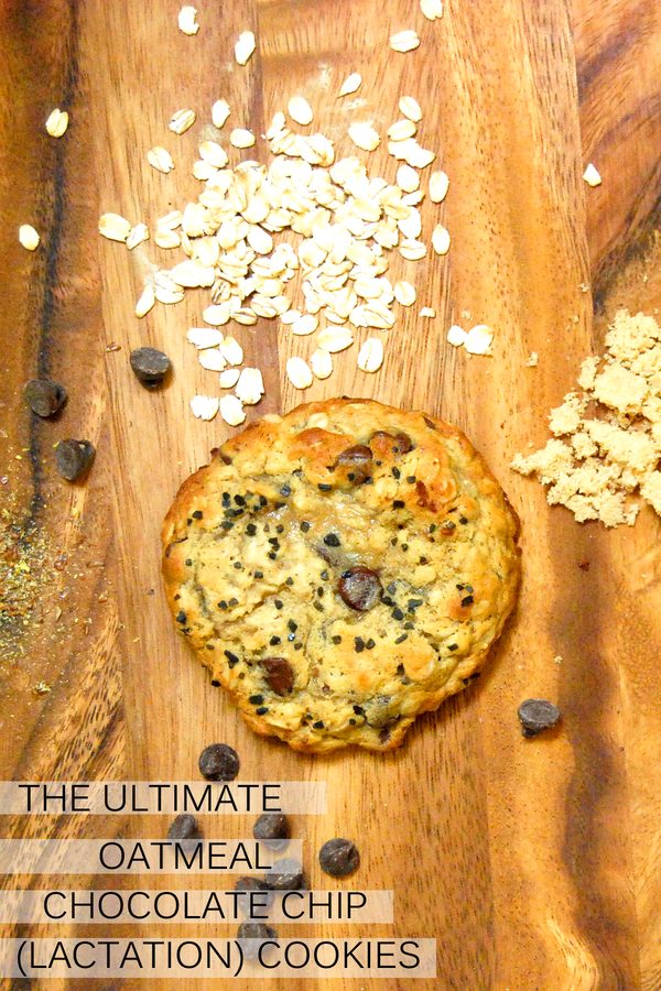 The Ultimate Oatmeal Chocolate Chip Lactation Cookies