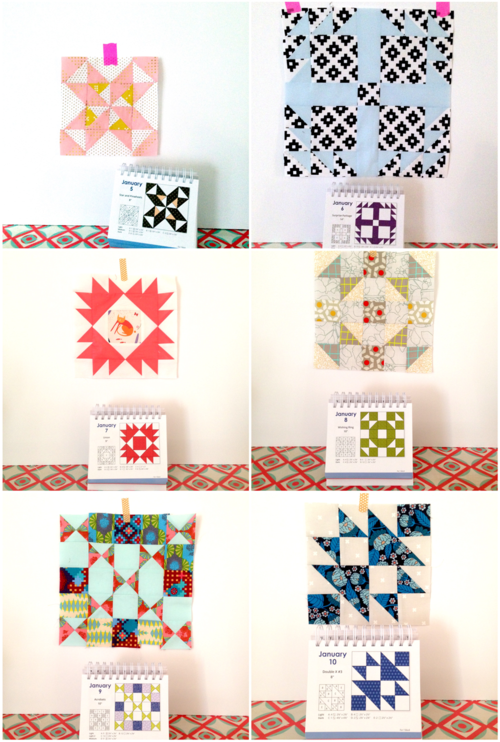365 Quilt Block Patterns by Judy Hopkins - Blocks by Amber Rohrer