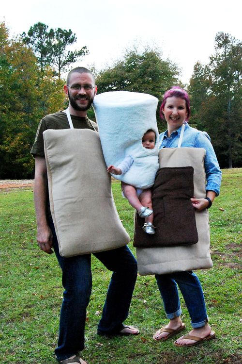 S'more Family Halloween Costume
